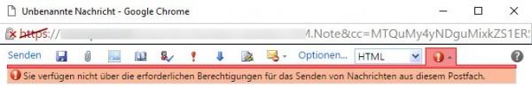 Outlook - Sie besitzen nicht die Berechtigung die Nachricht im Auftrag des angegebenen Benutzers zu senden-2