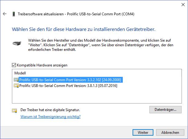 Prolific usb to serial comm port error code 10 - Prolific usb to serial comm port ...
