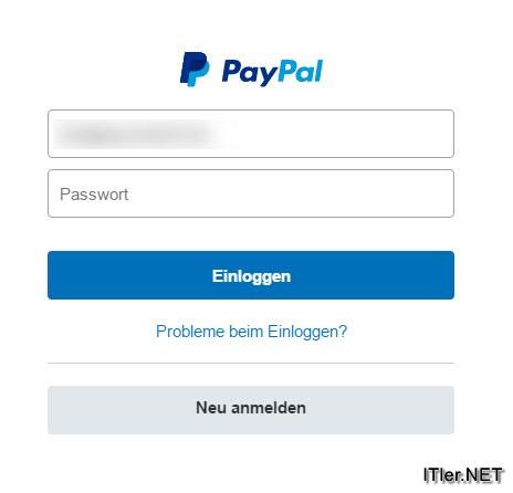 wie macht man sich paypal