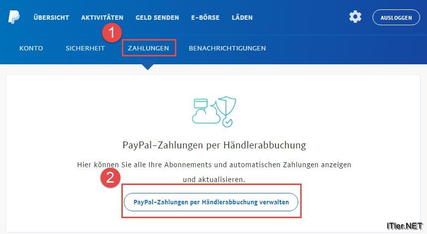 Paypal Wiederkehrende Zahlungen