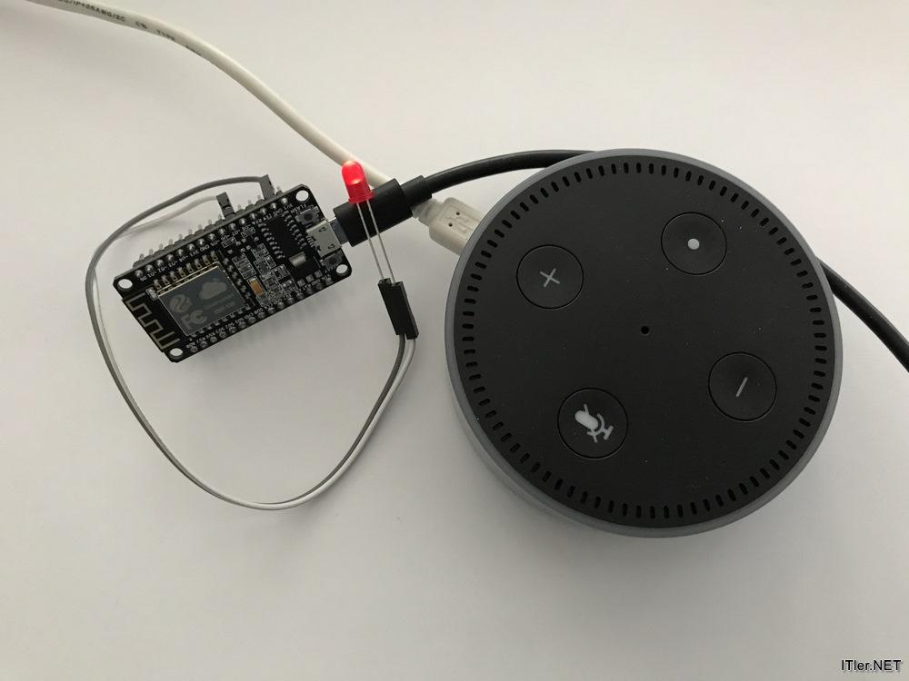 NodeMCU ESP8266 mit Alexa (Amazon Echo) steuern